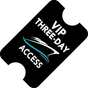 VIP Three Day Access Ticket for Cancun International Boat Show and Marine Expo December 3, 4 & 5, 2021